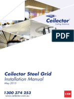 Ceilector Steel Grid Installation Manual May 2015