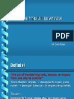 Respon Imun Terhadap Transplantasi Organ1