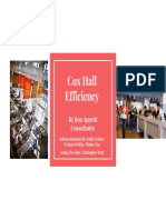 Project Cox Hall Power Point