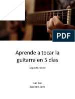 Aprende a Tocar La Guitarra en 5 Días Segunda Edición