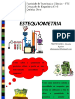 Aula Estequiometria