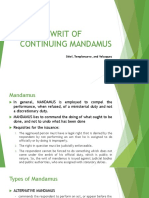 Writ of Continuing Mandamus v4 Super Final