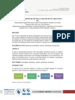 Informe Sintesis Cloruro de Ter-Butilo