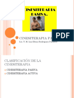 CINESITERAPIA PASIVA 1
