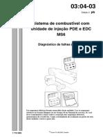 03 Sistema de Injeção Com Unidade Pde Edc Ms6 Diagnostico de Falha Scania s4-2