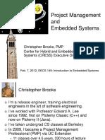 Brooks Eecs149 Sp12 ProjectManagementOverview