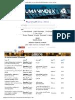0Humanindex_Beuchot_Base de Datos Bibliográfica de Humanidades y Ciencias Sociales