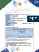 Guía de actividades y rubrica de evaluación -Paso 3. Análisis del estudio de caso.