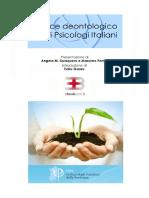 Codice Deontologico Degli Psicologi Italiani