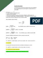 Los Modelos de Inventarios Deterministicos