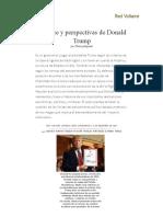 Balance y Perspectivas de Donald Trump, Por Thierry Meyssan