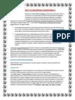 Factores Externos y La Seguridad Alimentaria II