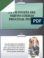 La Filosofía Del Nuevo Código Procesal Penal - Dr Lopez