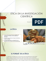 Etica en La Investigación Científica
