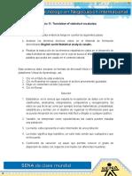Evidencia 11 Translation of Statistical Vocabulary