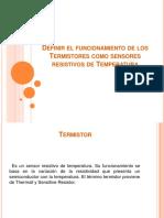 termistores como sensores