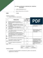 1. Cuestionario de Area de Caja