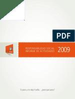 Informe Tarjeta Naranja RSE 2009