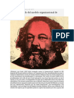 Engels Hablando Del Modelo Organizacional de Bakunin
