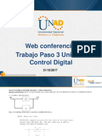 Web Conferencia 3 Control Digital Paso 3 Fecha 31-10-2017