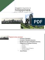 Plantation Economy in Philippines