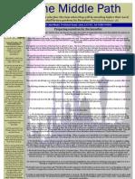 """Al-Jalal Masjid """"The Middle Path"""" September 2010 Newsletter"""