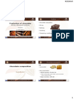 20130904 Production of Chocolate - Claudia Delbaere