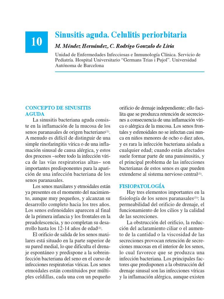 remedio casero para la celulitis periorbitaria
