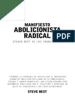 .Manifiesto Abolicionista Radical