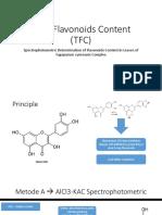Total Flavonoids Content (TFC).pptx