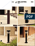 Kim Lighting B30 Series Bollard Brochure 1983