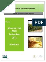 Informe Situacion Maiz honduras