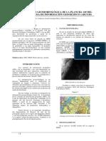 Interpretación Geomorfológica de La Plancha 149