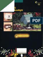 Kim Lighting CFL Floodlight Brochure 1996