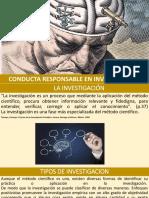 Conducta Responsable en Investigación