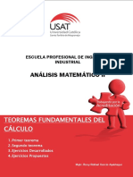 Teoremas Del Cálculo