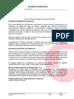EC0889 Elaboración de estudios de riesgo en procesos industriales