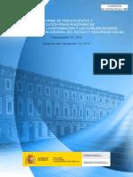 Presupuestos TIC 2015
