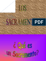 Sacramentos Power Point
