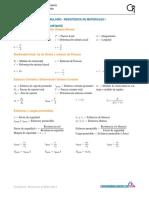 Resistencia de materiales Formulario 1