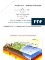 Atmospheric, Oceanic and Terrestrial Processes (Lec3)