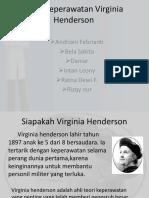 Teori Keperawatan Virginia Henderson