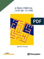 Acosta, Jose M - Los Siete Habitos Para Dirigir Tu Vida.pdf