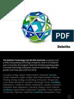 Deloitte Au Tmt Techfast50 2016 Report 190417