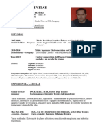 CV Luis M Gimenez Benitez