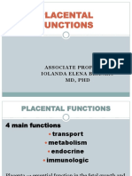 4 Placental Functions