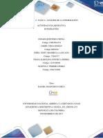 Unidad 1-2 - Paso 3– Análisis de La Información