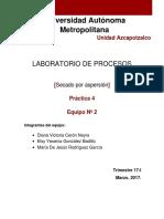 Laboratorio de Procesos Reporte 4