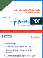 Informe Empleate 1er Semestre 2010