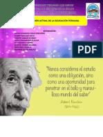 SITUACIÓN ACTUAL DE LA EDUCACIÓN PERUANA